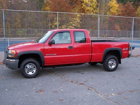 2004 GMC Sierra 2500 for sale at William's Car Sales aka Fat Willy's in Atkinson NH