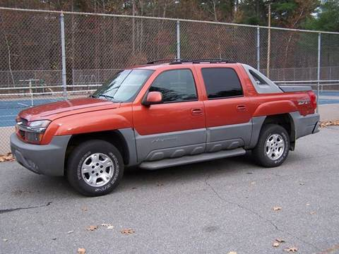 2002 Chevrolet Avalanche for sale at William's Car Sales aka Fat Willy's in Atkinson NH