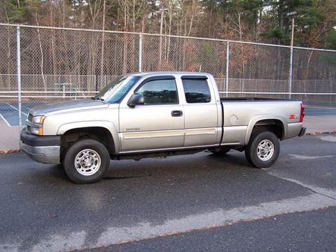 2003 Chevrolet Silverado 2500HD for sale at William's Car Sales aka Fat Willy's in Atkinson NH