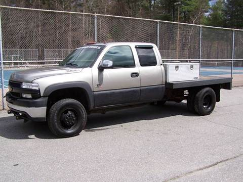 2001 Chevrolet Silverado 3500HD for sale at William's Car Sales aka Fat Willy's in Atkinson NH