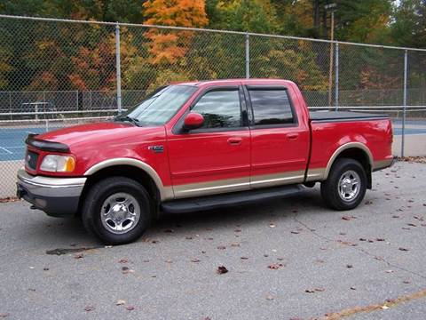 2001 Ford F-150 for sale at William's Car Sales aka Fat Willy's in Atkinson NH