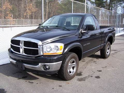 2006 Dodge Ram Pickup 1500 for sale at William's Car Sales aka Fat Willy's in Atkinson NH