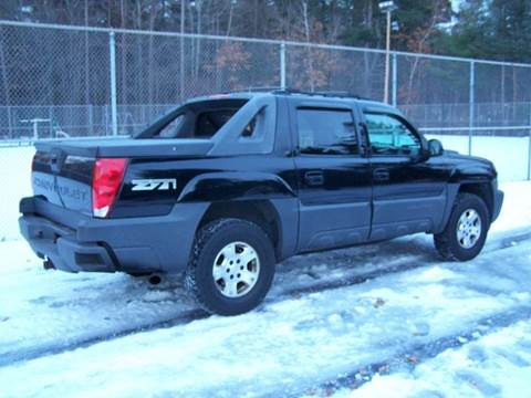 2005 Chevrolet Avalanche for sale at William's Car Sales aka Fat Willy's in Atkinson NH