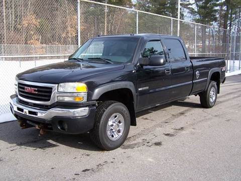 2004 GMC Sierra 3500HD CC for sale at William's Car Sales aka Fat Willy's in Atkinson NH