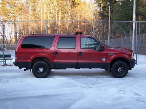 2004 Ford Excursion for sale at William's Car Sales aka Fat Willy's in Atkinson NH