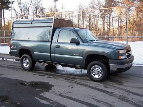2006 Chevrolet Silverado 2500HD for sale at William's Car Sales aka Fat Willy's in Atkinson NH