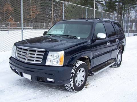2005 Cadillac Escalade for sale at William's Car Sales aka Fat Willy's in Atkinson NH
