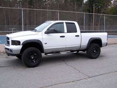 2003 Dodge Ram Pickup 3500 for sale at William's Car Sales aka Fat Willy's in Atkinson NH