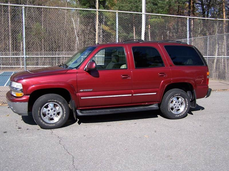 2003 Chevrolet Tahoe LT 4WD 4dr SUV In Derry NH - William\'s Car ...