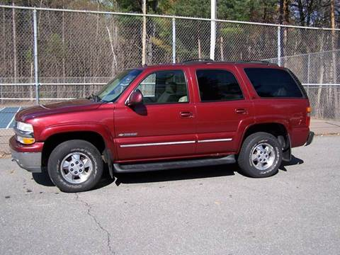 2003 Chevrolet Tahoe for sale at William's Car Sales aka Fat Willy's in Atkinson NH