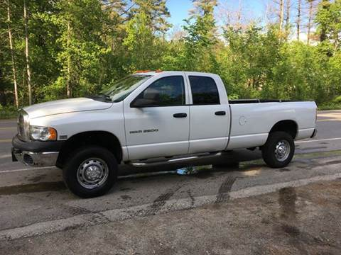 2004 Dodge Ram Pickup 2500 for sale at William's Car Sales aka Fat Willy's in Atkinson NH