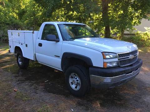 2005 Chevrolet Silverado 3500 for sale at William's Car Sales aka Fat Willy's in Atkinson NH