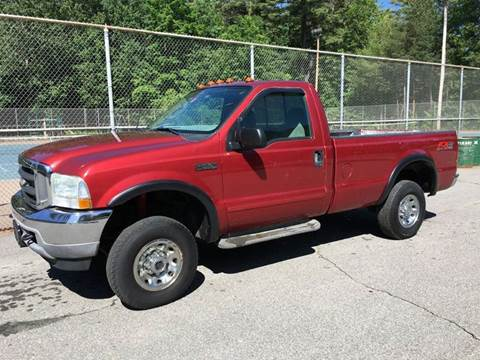 2003 Ford F-250 Super Duty for sale at William's Car Sales aka Fat Willy's in Atkinson NH