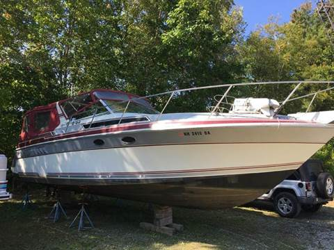 1988 Wellcraft 32 st tropez for sale at William's Car Sales aka Fat Willy's in Atkinson NH