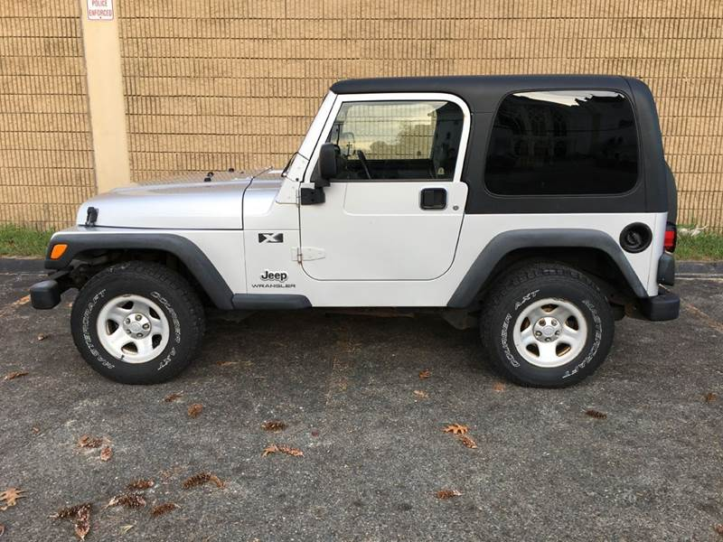 2004 Jeep Wrangler for sale at William's Car Sales aka Fat Willy's in Atkinson NH
