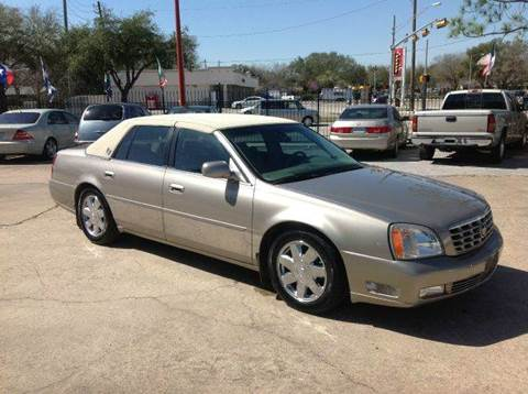 2004 Cadillac DeVille for sale at Don Jacobson Automobiles in Houston TX