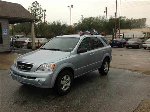 2006 Kia Sorento for sale at Don Jacobson Automobiles in Houston TX