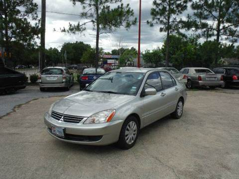 2006 Mitsubishi Lancer for sale at Don Jacobson Automobiles in Houston TX