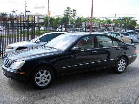 2001 Mercedes-Benz S-Class for sale at Don Jacobson Automobiles in Houston TX