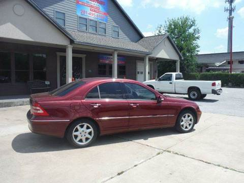 2001 Mercedes-Benz C-Class for sale at Don Jacobson Automobiles in Houston TX