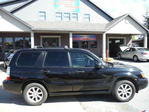 2006 Subaru Forester for sale at Don Jacobson Automobiles in Houston TX