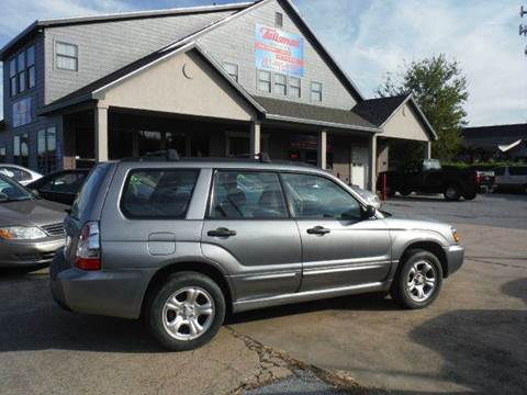 2007 Subaru Forester for sale at Don Jacobson Automobiles in Houston TX