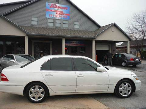 2004 Lexus LS 430 for sale at Don Jacobson Automobiles in Houston TX