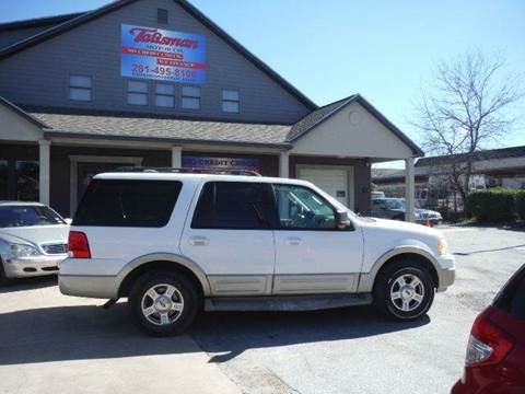 2005 Ford Expedition for sale at Don Jacobson Automobiles in Houston TX