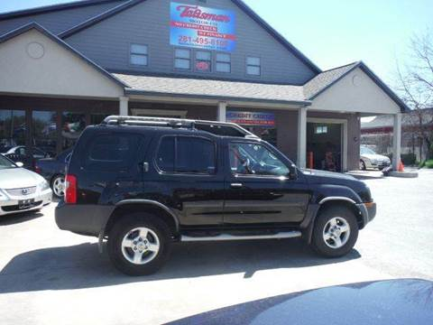 2004 Nissan Xterra for sale at Don Jacobson Automobiles in Houston TX