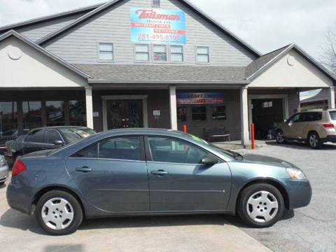 2006 Pontiac G6 for sale at Don Jacobson Automobiles in Houston TX