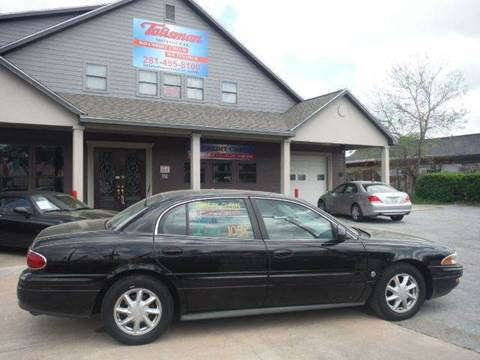 2003 Buick LeSabre for sale at Don Jacobson Automobiles in Houston TX