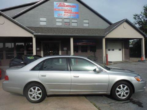 2004 Toyota Avalon for sale at Don Jacobson Automobiles in Houston TX