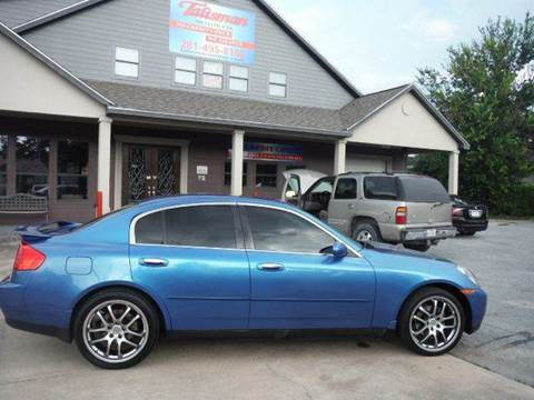2004 Infiniti G35 for sale at Don Jacobson Automobiles in Houston TX