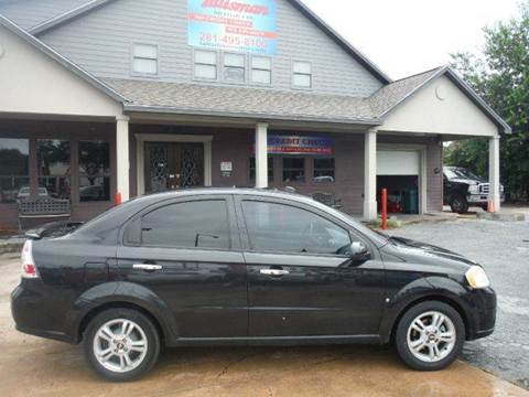 2009 Chevrolet Aveo for sale at Don Jacobson Automobiles in Houston TX