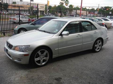 2004 Lexus IS 300 for sale at Don Jacobson Automobiles in Houston TX