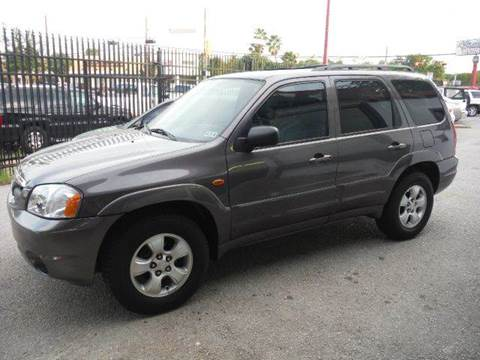 2004 Mazda Tribute for sale at Don Jacobson Automobiles in Houston TX