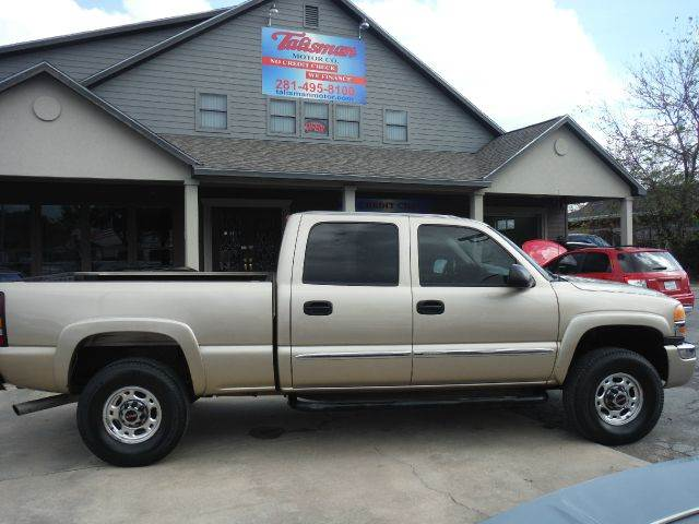 2004 GMC Sierra 2500HD for sale at Don Jacobson Automobiles in Houston TX