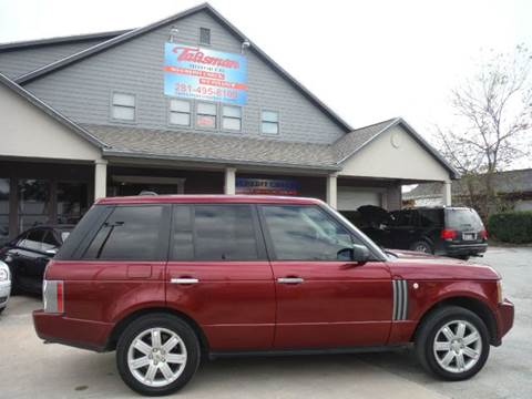 2006 Land Rover Range Rover for sale at Don Jacobson Automobiles in Houston TX