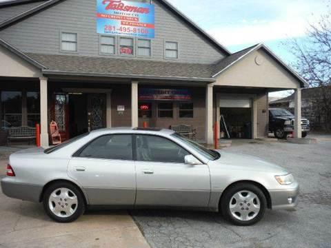 2000 Lexus ES 300 for sale at Don Jacobson Automobiles in Houston TX
