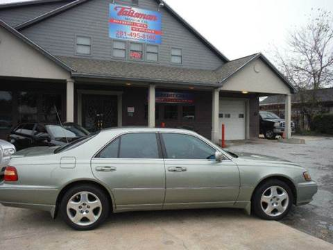 2000 Infiniti Q45 for sale at Don Jacobson Automobiles in Houston TX