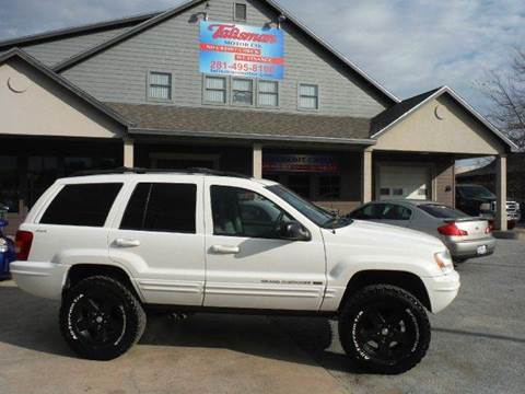 2001 Jeep Grand Cherokee for sale at Don Jacobson Automobiles in Houston TX