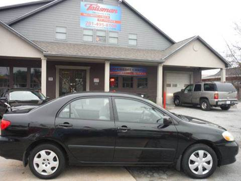 2003 Toyota Corolla for sale at Don Jacobson Automobiles in Houston TX