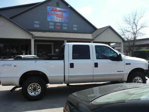 2002 Ford F-250 Super Duty for sale at Don Jacobson Automobiles in Houston TX