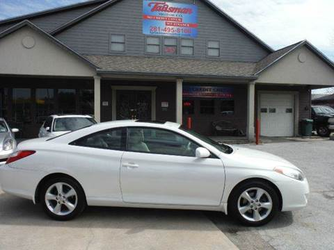 2005 Toyota Camry Solara for sale at Don Jacobson Automobiles in Houston TX