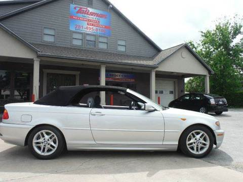 2004 BMW 3 Series for sale at Don Jacobson Automobiles in Houston TX