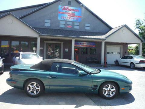 2001 Pontiac Firebird for sale at Don Jacobson Automobiles in Houston TX