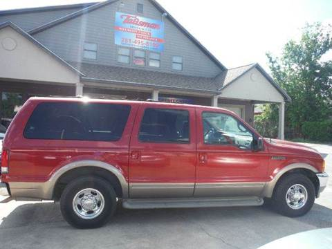 2000 Ford Excursion for sale at Don Jacobson Automobiles in Houston TX