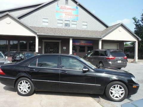 2003 Mercedes-Benz S-Class for sale at Don Jacobson Automobiles in Houston TX