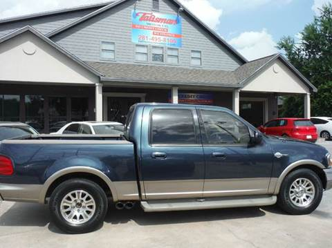 2001 Ford F-150 for sale at Don Jacobson Automobiles in Houston TX