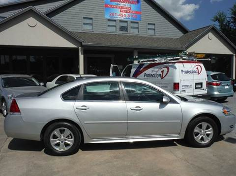 2012 Chevrolet Impala for sale at Don Jacobson Automobiles in Houston TX
